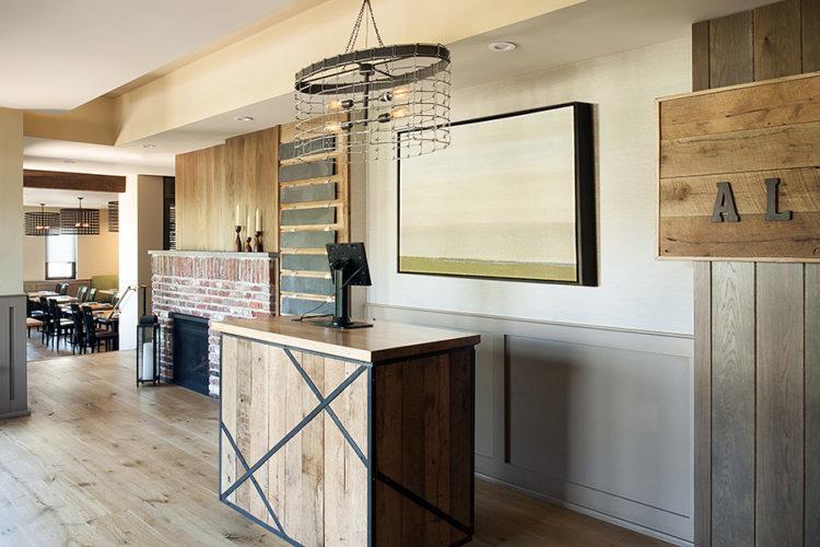 Restaurant design by Philadelphia interior designer Glenna Stone Interior Design