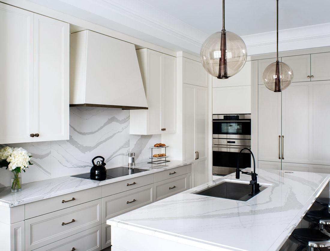 Best Philadelphia interior designer Glenna Stone kitchen counter inspiration