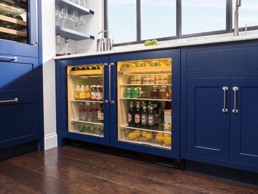 Philadelphia interior design kitchen bar inspiration by Sub-Zero