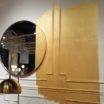 Best Philadelphia interior designer Glenna Stone West Elm gold paint