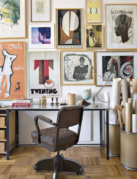 Best Philadelphia interior designer Glenna Stone home office MyDomaine