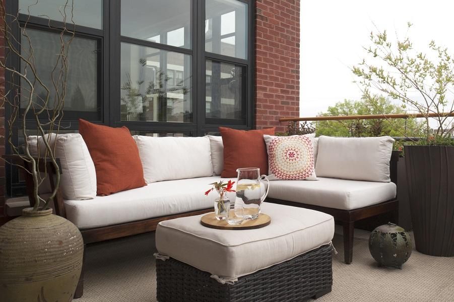 Best Philadelphia Interior Designer Glenna Stone Asian Inspired Home Design  Balcony Terrace