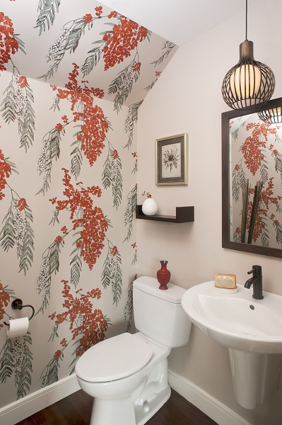 Best Interior Designer Philadelphia Fun Powder Room Glenna Stone1 Glenna Stone Interior Design