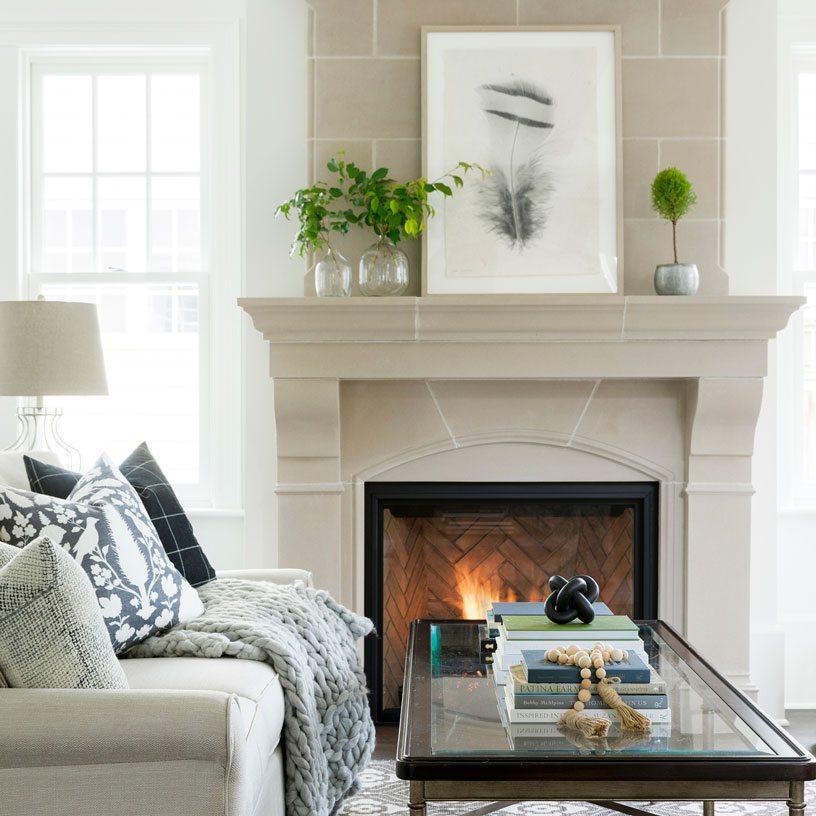 Living Room Interior Design Inspiration: Best Philadelphia Interior Designer Glenna Stone Bria