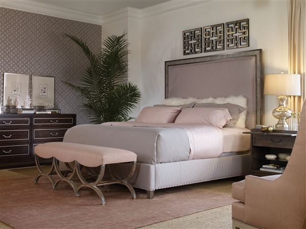 Best Philadelphia Interior Designer Glenna Stone Master Bedroom Vanguard Isabella King Bed