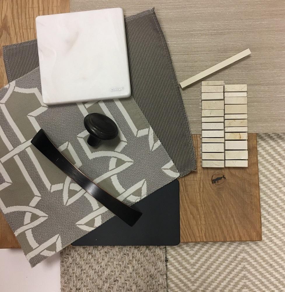 interior design concept mood board design